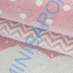 Felhő rózsaszín 80x150cm gyerekszőnyeg