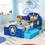 Mancs Őrjárat leesésgátlós gyerekágy matraccal nélkül  140×70